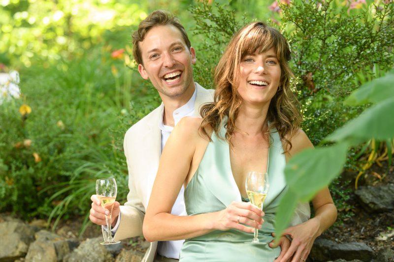 summer wedding in Paris, Virginia ©TimeLine Media