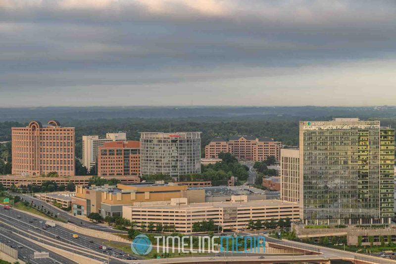 View from above Tysons, Virginia from the top of the Capital One Tower by Rassi G. Borneo ©TimeLine Media