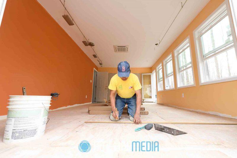 Noserale Home Improvement renovation project in Reston, Virginia ©TimeLine Media