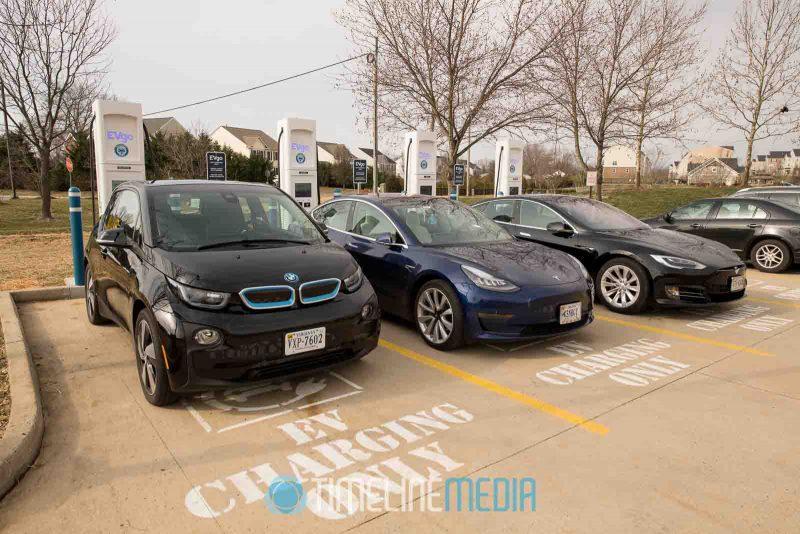 EVgo charging station in Chantilly, Virginia ©TimeLIne Media